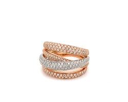 ring bezet met diamanten